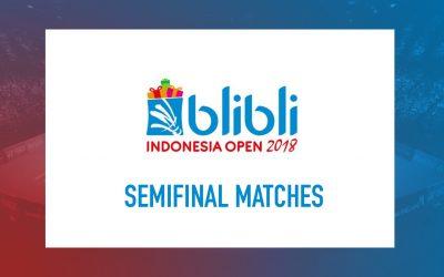Semifinal matches