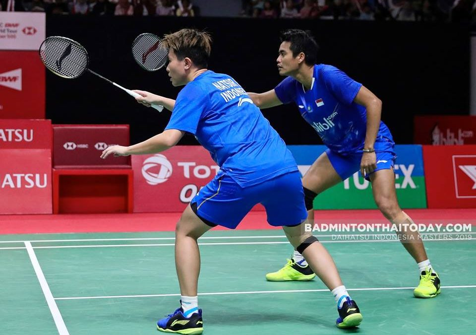 Time to say goodbye: Liliyana Natsir lost the last match of her career